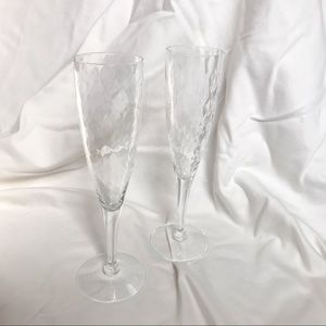 Other - Glass Champagne Glasses